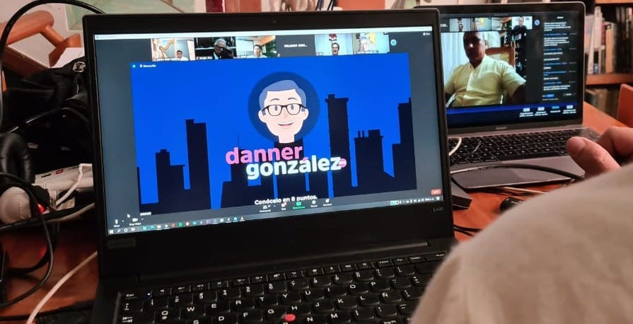 Masones sostienen diálogo sobre transparencia  con Danner González