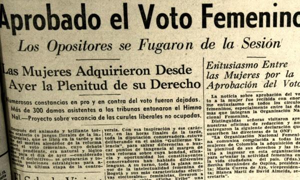 66 años del voto femenino en México
